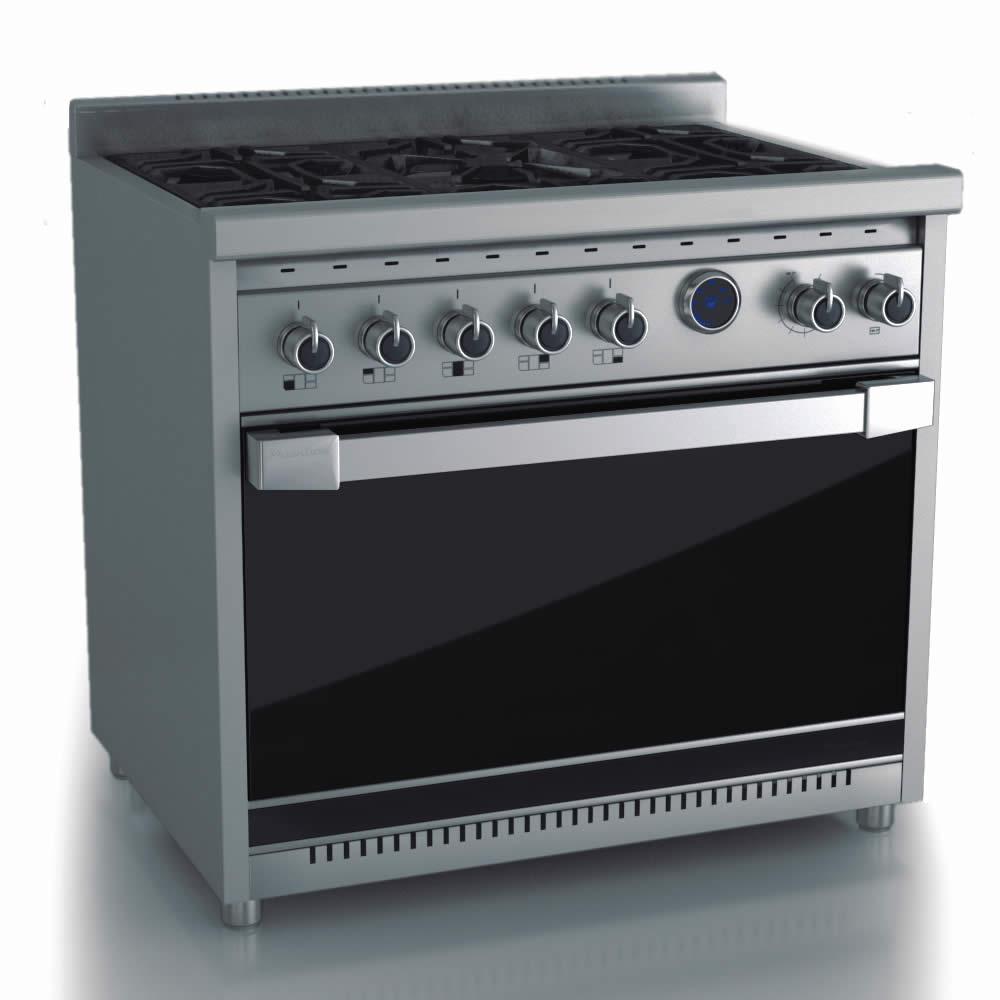 Cocina a gas morelli americana premium 900 brukman - Cocinas murelli ...