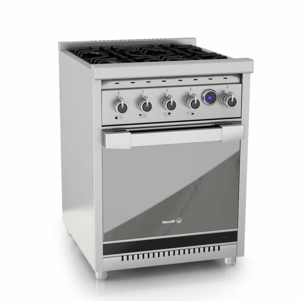 Cocina A Gas Morelli Americana Premium 600 Brukman